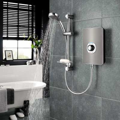Electric shower installations